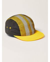 f88ef4e000d Lyst - Topman Yellow Oversized Beanie in Yellow for Men
