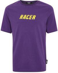 Jaded - Purple Racer T-shirt* - Lyst