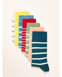 TOPMAN - Even Days Of The Week Socks Pack - Lyst