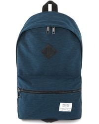 TOPMAN - Indigo Nylon Branded Backpack - Lyst