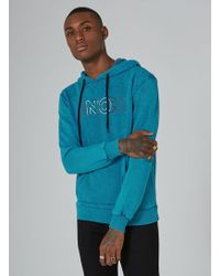 Antioch - Blue Logo Hoodie - Lyst