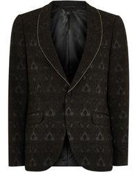 TOPMAN - Black Ultra Skinny Tuxedo Jacket - Lyst