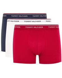 Tommy Hilfiger - Assorted Colour Trunks 3 Pack - Lyst