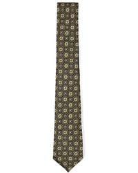 TOPMAN - Gold Paisley Jacquard Tie - Lyst