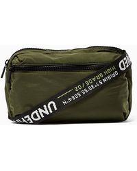 0eb3fb01c4 TOPMAN - Slouch Text Cross Body Bag - Lyst
