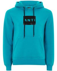 Antioch - Teal Logo Hoodie - Lyst