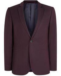 TOPMAN - Plumb Skinny Fit Suit Jacket - Lyst