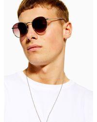 9212782b5e20c Men s TOPMAN Sunglasses Online Sale - Lyst