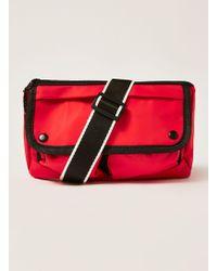 cf77f5c589 Topman Herschel Black  16  Cross Body Bag in Black for Men - Lyst