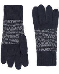 TOPMAN - Navy And Grey Glove - Lyst