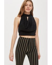 Love - Pleated Cowl Front Top By - Lyst