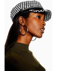 4441f3f91d0bf TOPSHOP Transitional Bowler Hat in Black - Lyst