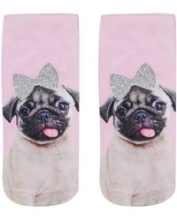 Living Royal - Pug Ankle Socks By - Lyst
