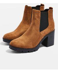 89b010b5daf Lyst - TOPSHOP Bellini Stiletto Over The Knee Boot (women) in Metallic