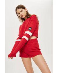 Juicy Couture - Stripe Sleeve Sweatshirt By Juicy By - Lyst