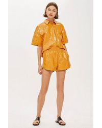 TOPSHOP - paper Runner Shorts By Boutique - Lyst