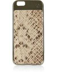 TOPSHOP - X Bpay Luxe Leather Iphone 6 Case - Lyst