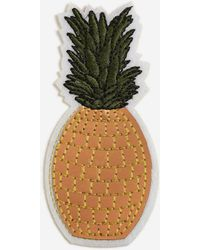 TOPSHOP - Pineapple Iron-on Badge - Lyst