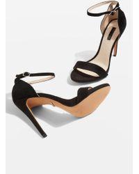 TOPSHOP - Raphie Slim Platform Sandals - Lyst