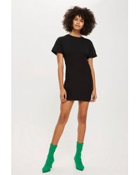 TOPSHOP - Petite Bust Cup T-shirt Dress - Lyst