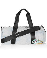 TOPSHOP - Denim Patch Luggage Bag - Lyst