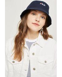 Fila - Baxter Bucket Hat By - Lyst
