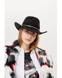 TOPSHOP - Cowboy Felt Hat - Lyst