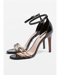 TOPSHOP - Reta Two Part Sandals - Lyst