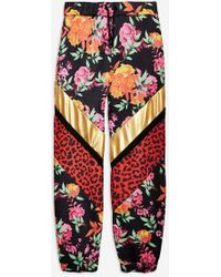 Jaded London - mixed Animal And Floral Print Joggers By - Lyst