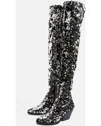 7d236dec0e2 Women s TOPSHOP Over-the-knee boots Online Sale