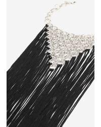 TOPSHOP - Tassel Link Statement Collar Necklace - Lyst