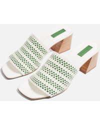 TOPSHOP - Nadia Woven Mules - Lyst
