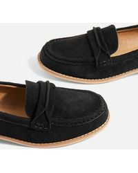 TOPSHOP - Lolly Slip On Loafers - Lyst