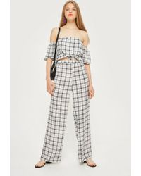 Oh My Love - wide Leg High Waisted Trousers By - Lyst