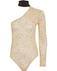 Jaded London - Glitter Mesh Body By - Lyst