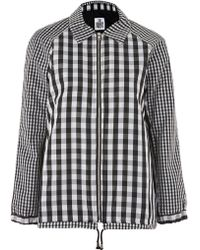 The Ragged Priest - Shade Gingham Jacket By - Lyst