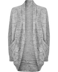 Wal-G | Slouch Cardigan With Pocket By | Lyst
