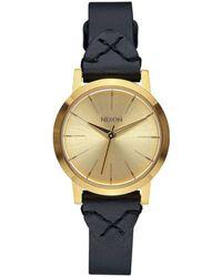 Nixon - Kenzi Leather A398-2143 Watch By - Lyst