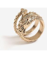 TOPSHOP - dragon Wrap Ring - Lyst