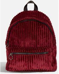 f8e3fdc82925 Skinnydip London - jax Red Backpack By Skinnydip - Lyst