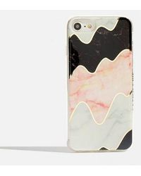 Skinnydip London - Marble Wiggle Iphone 6/6s/7 & 8 Case By Skinnydip - Lyst