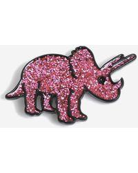 TOPSHOP Dinosaur Pin Badge
