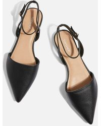 TOPSHOP - Two Part Pointed Shoes - Lyst