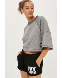 Ivy Park - Logo Jersey Shorts By - Lyst