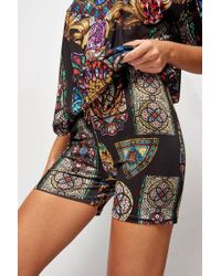 Jaded London - stained Glass Cycling Shorts By - Lyst