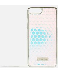 TOPSHOP - Honeycomb Iphone Case By Skinnydip - Lyst