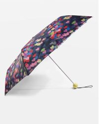 TOPSHOP - Blurred Heart Print Umbrella - Lyst