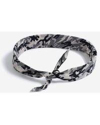 TOPSHOP - camouflage Print Bandana - Lyst