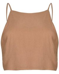 Glamorous - Tie Back Camisole Top By - Lyst