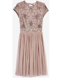 TOPSHOP - Nemesis Dress By Lace - Lyst